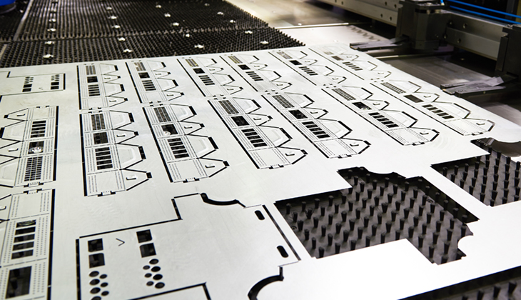 Finished product from Laser cutting metal machine - CN Metalworks